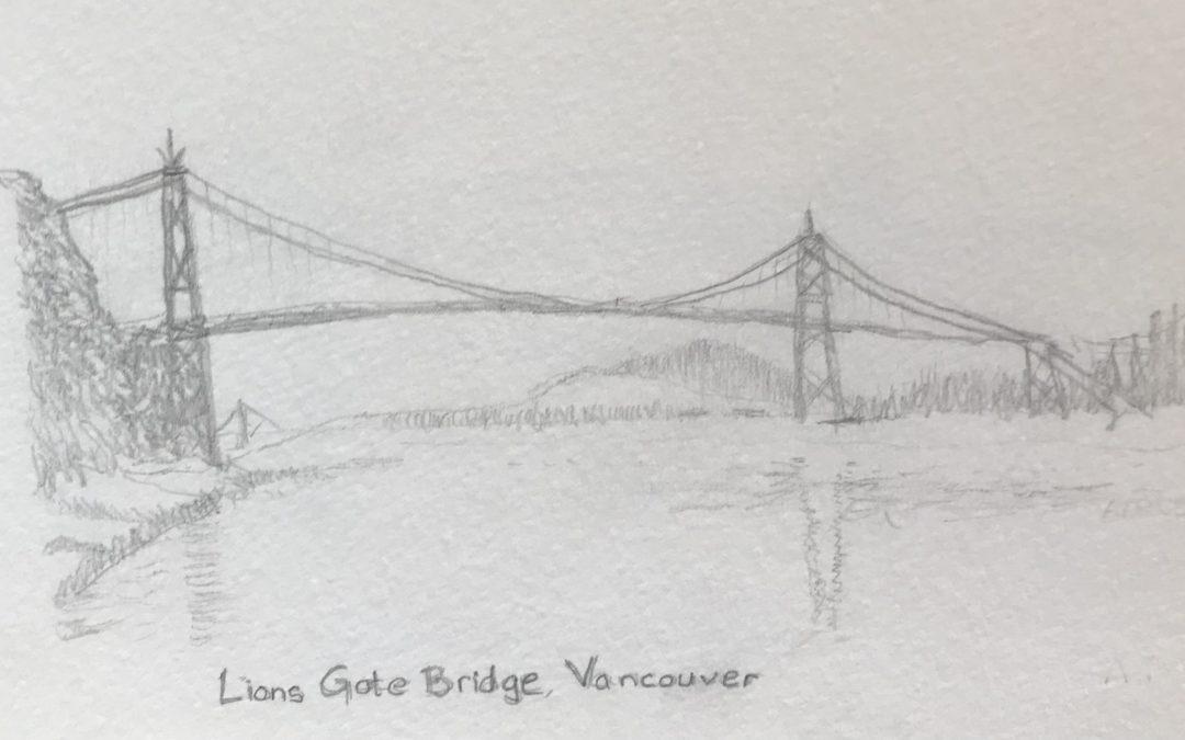 Building Bridges in Art – Graphite Sketches – Aspiring Artist