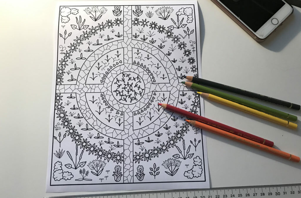 52 Herbs Coloring Pages